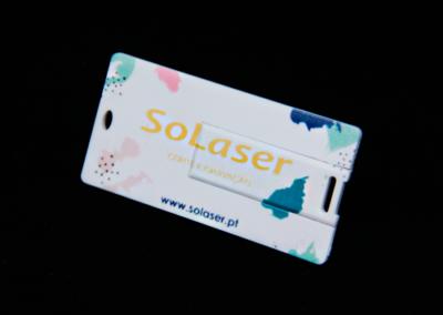 Pen-cartão c/ impressão digital UV
